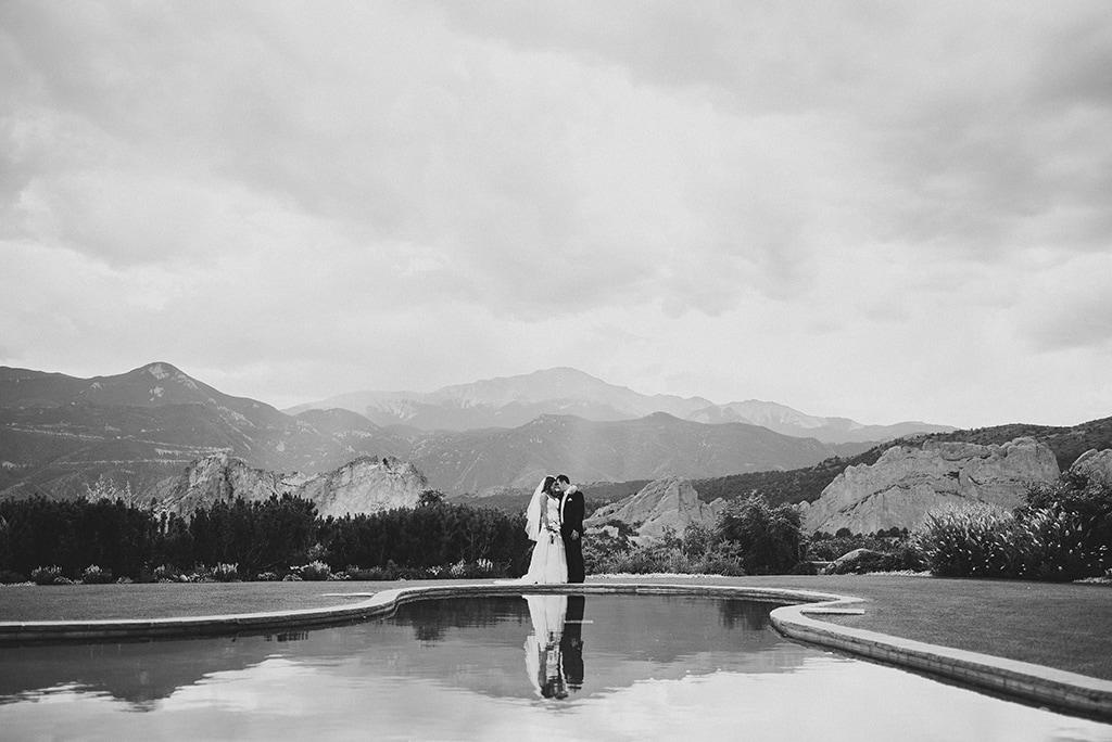 Colorado Springs Wedding Venue Garden of the Gods Resort.