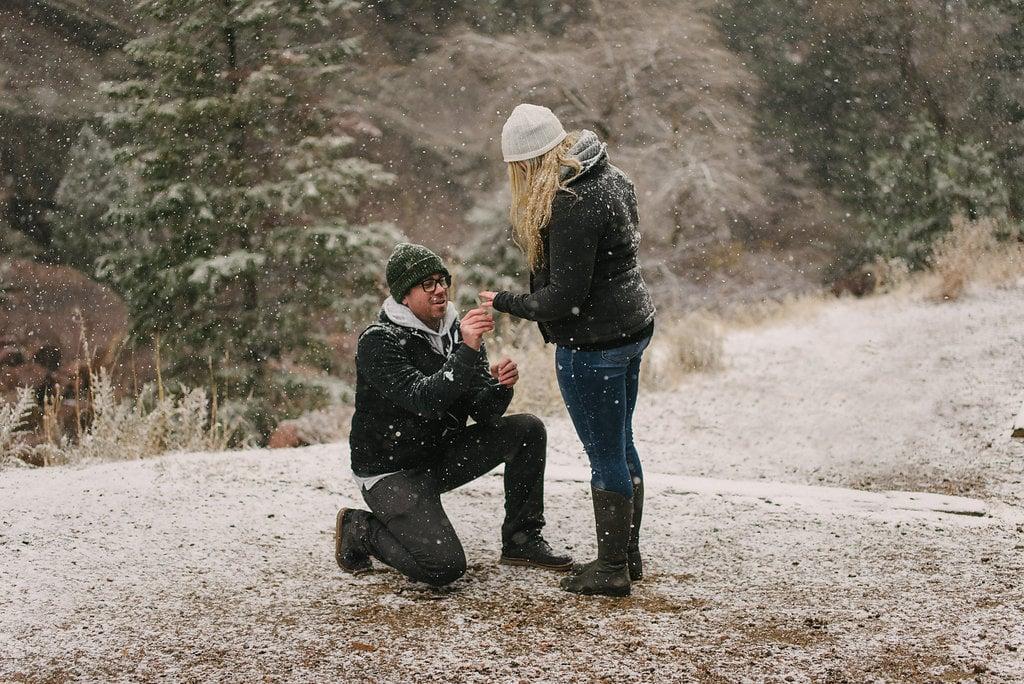 Snowy Breckenridge Proposal