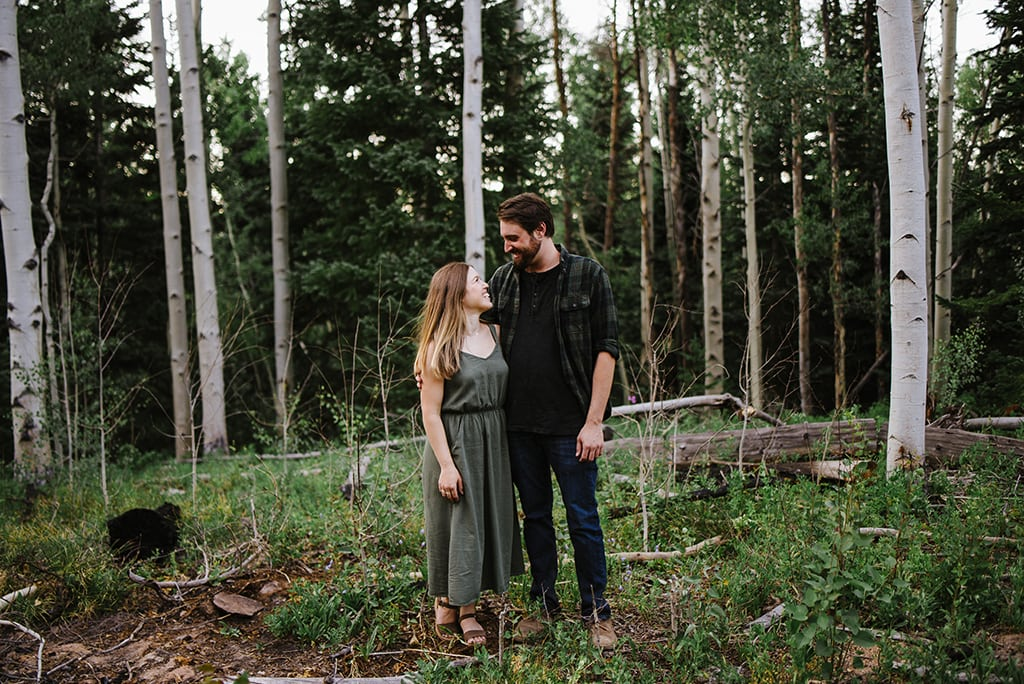 Wooded Colorado Engagement Session