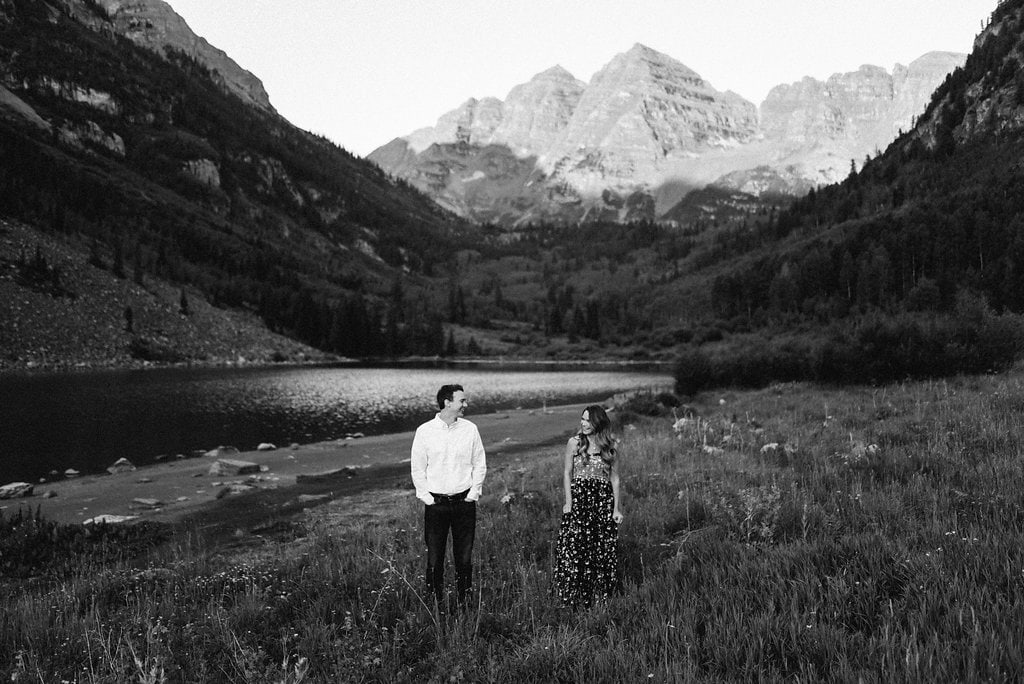 Maroon Bells Engagement Session Best Places to ELope in Colorado
