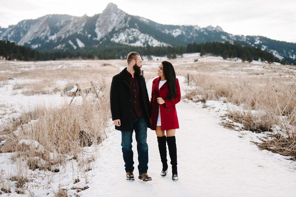 Boulder Engagement Session