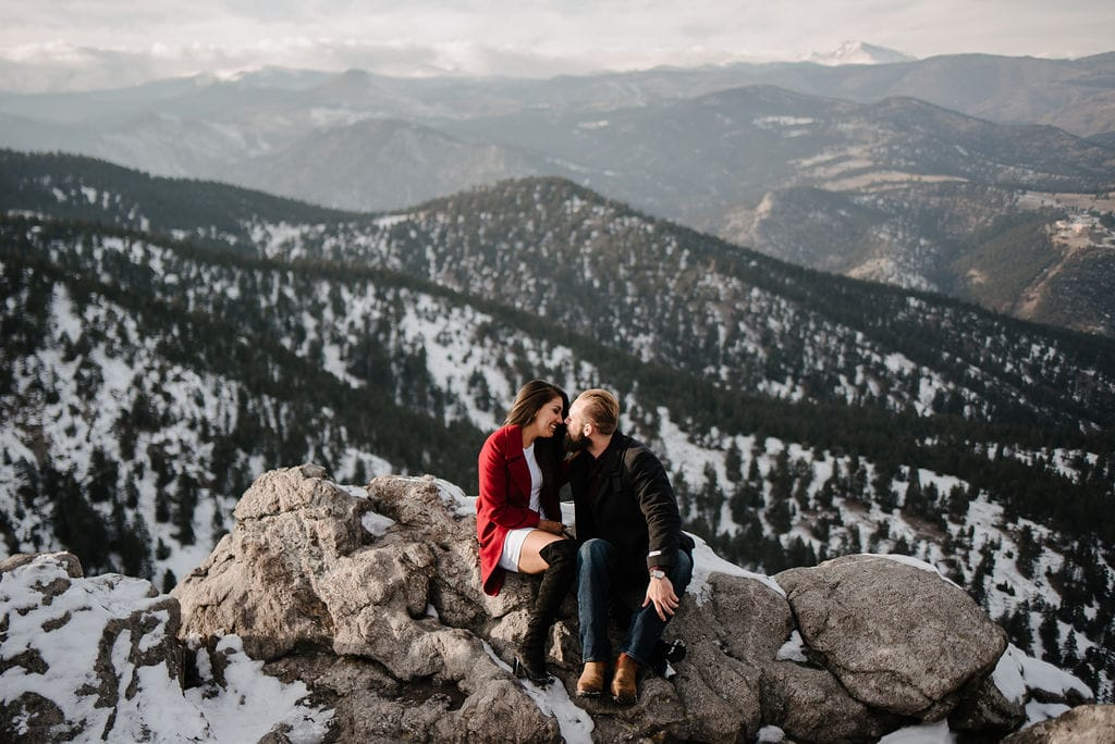 Lost Gulch Engagement Session