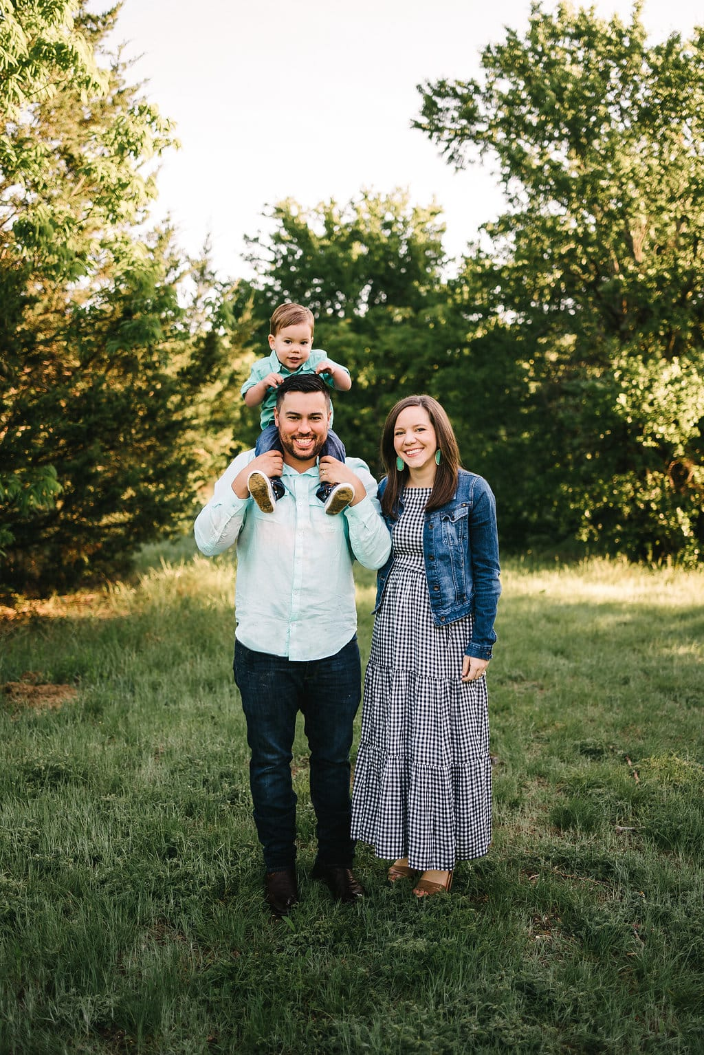 Arbor Hills Nature Preserve Family Photos