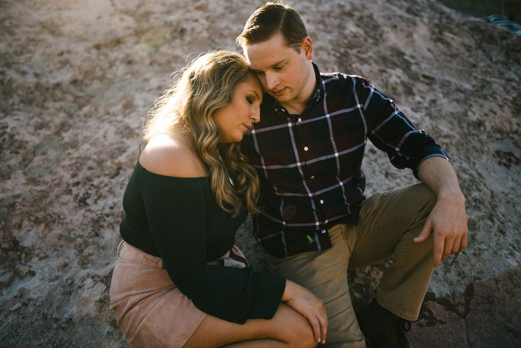 South Valley Park Dog Friendly Engagement Session Location