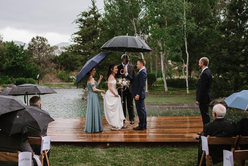 Rainy Boulder Wedding