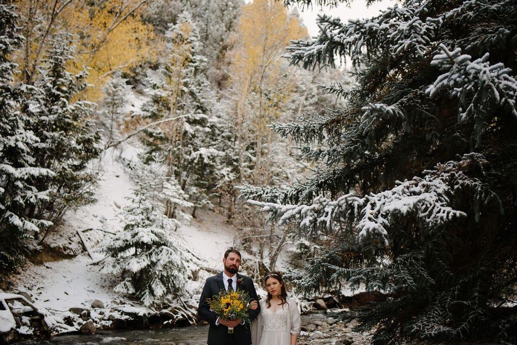 Fall Colorado Wedding