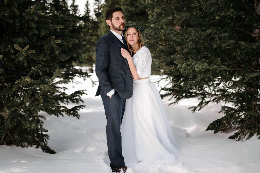 Snowy Winter Breckenridge Wedding Venues