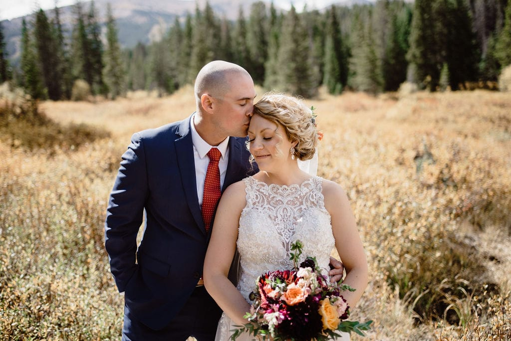 Breckenridge Wedding Portraits