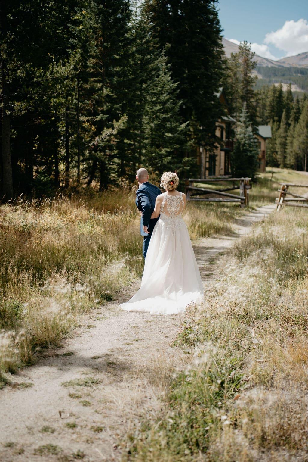 Breckenridge Wedding Photography First Look