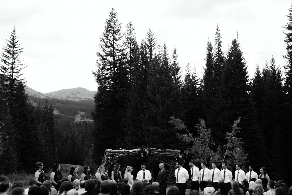 Moody Breckenridge wedding ceremony