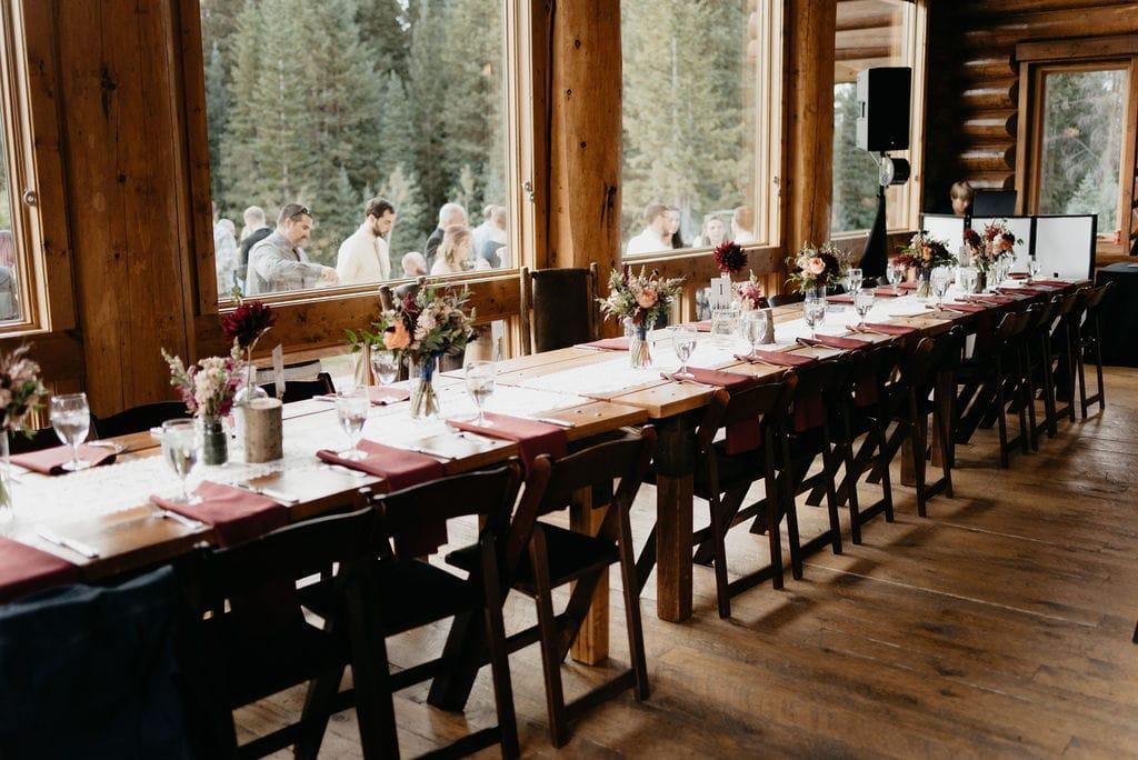 Breckenridge Wedding decor