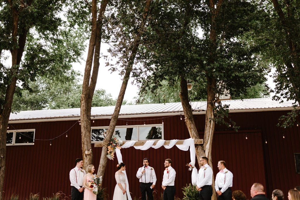 Rustic Lace Barn Wedding