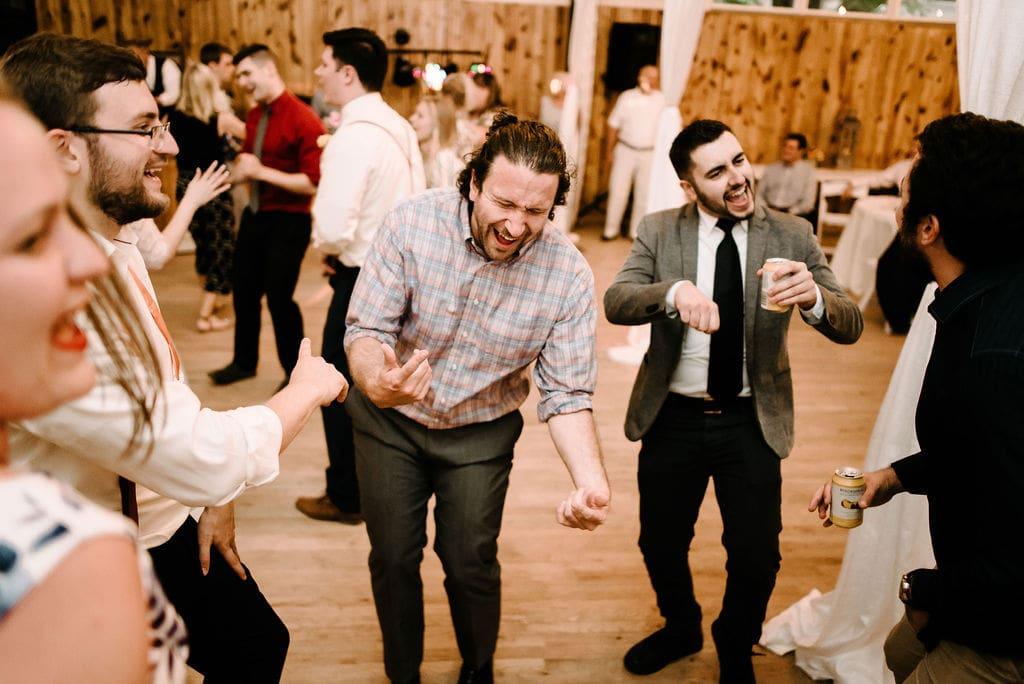 wedding partying