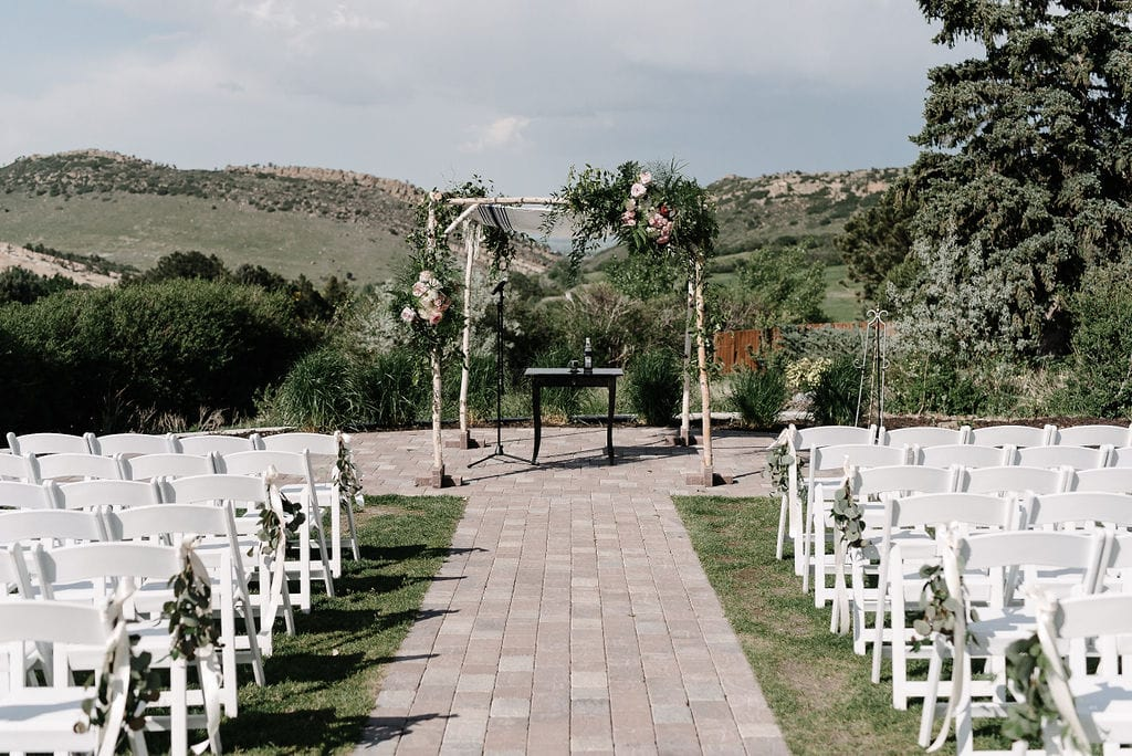 Ceremony Site at Manor House in Littleton