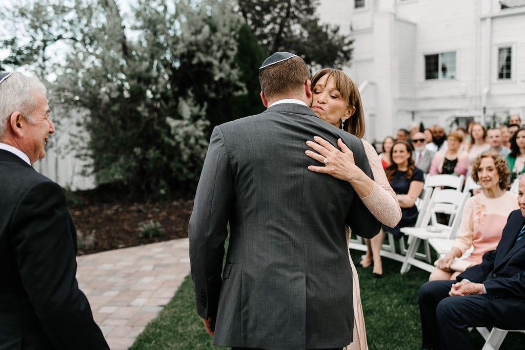 Wedding Ceremony at Manor House