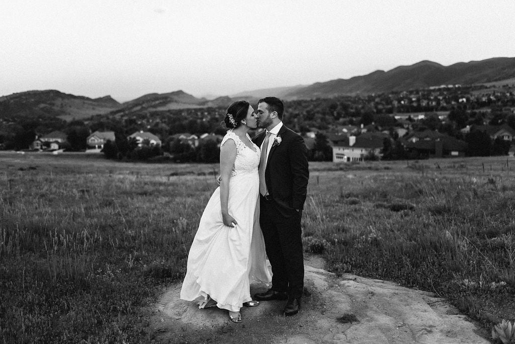 Romantic Couples Portraits in Littleton Colorado