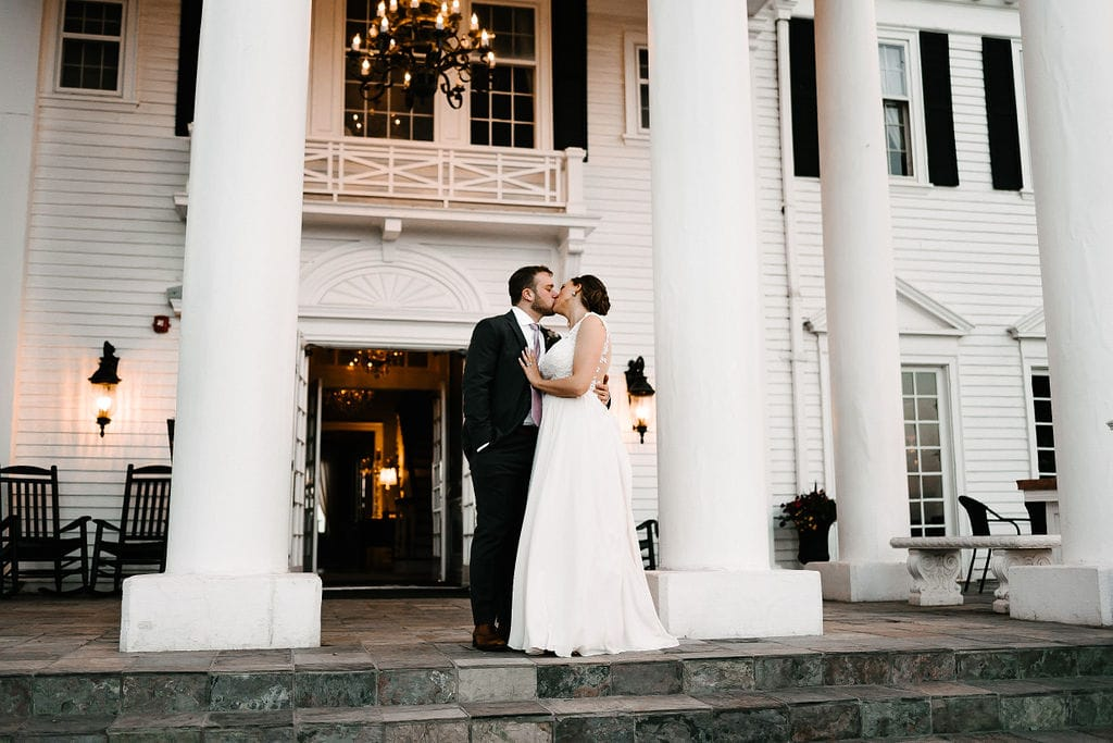 Bride and Groom at The Manor House