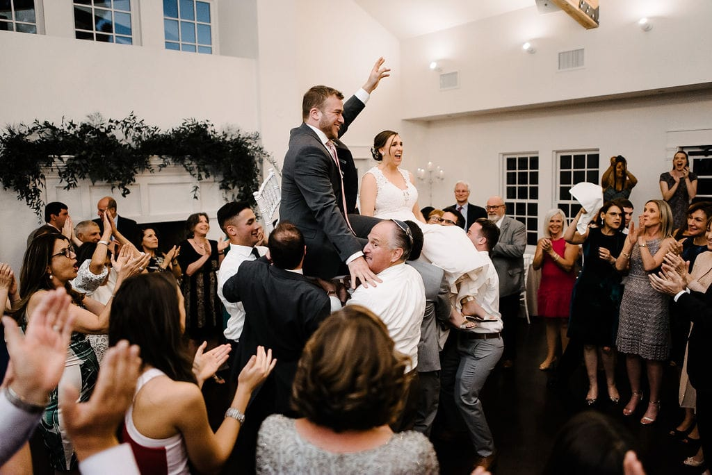 Dancing the Horah at The Manor House