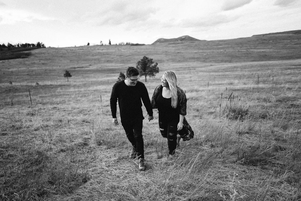 Spruce Mountain Open Space Engagement Photos