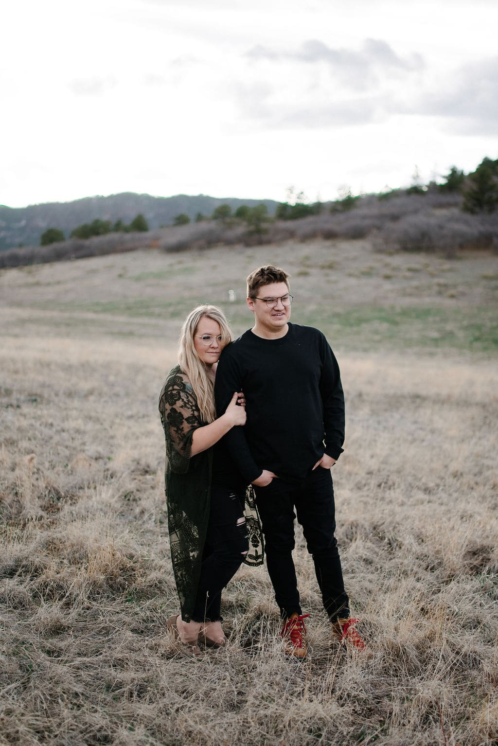 Colorado Couples Session at Spruce Mountain Open Space