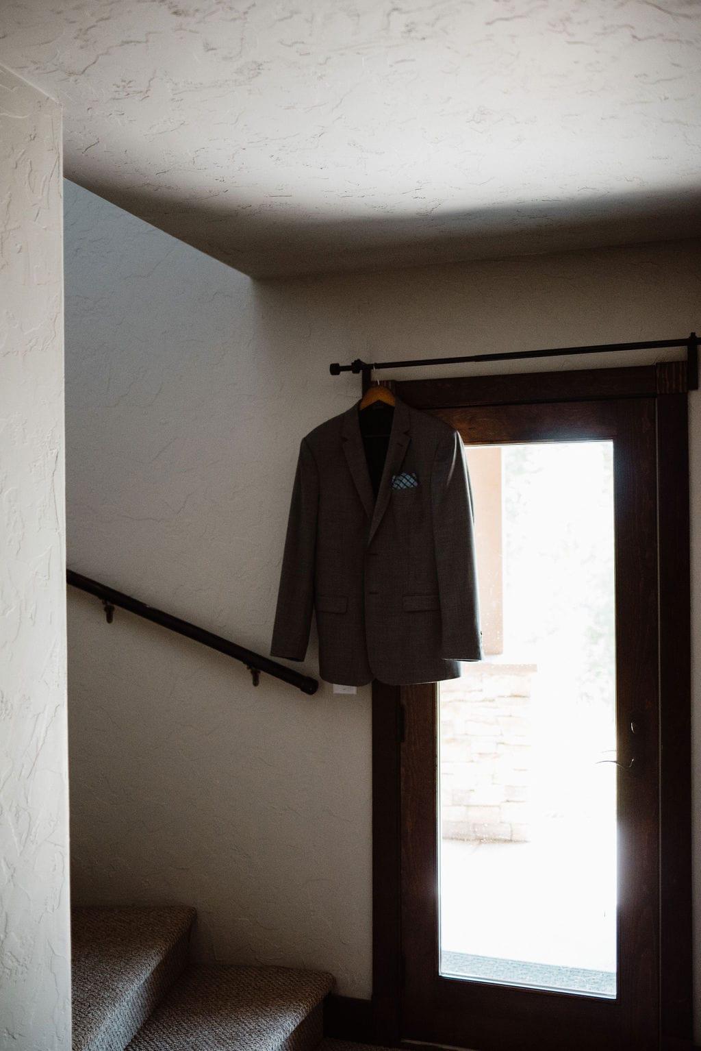 Grooms Details. Grooms Jacket.