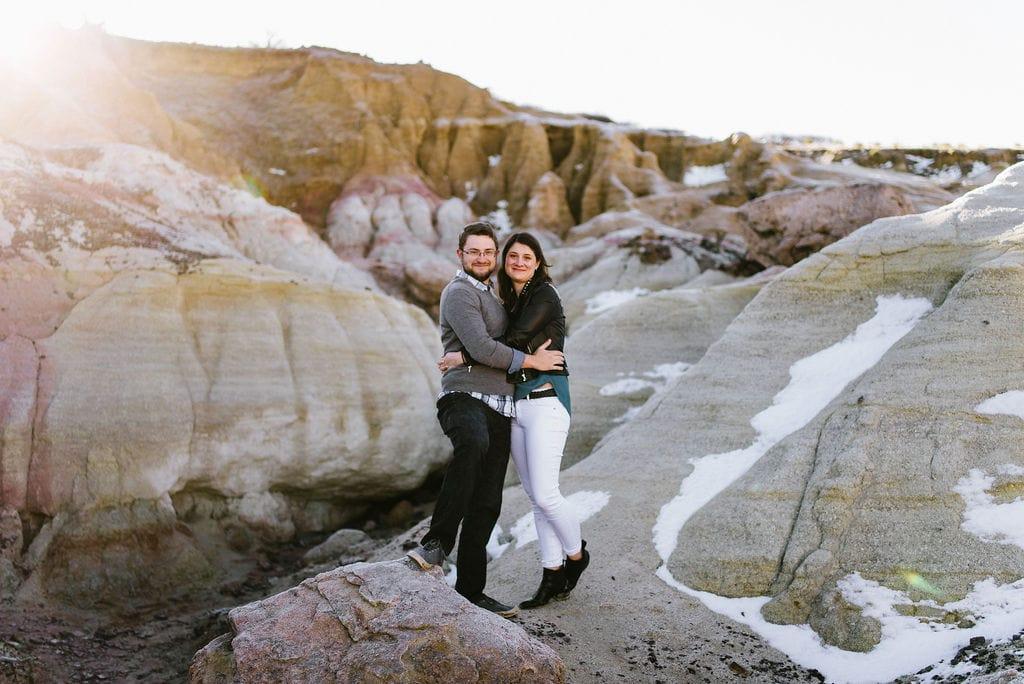 unique colorado engagement photo location