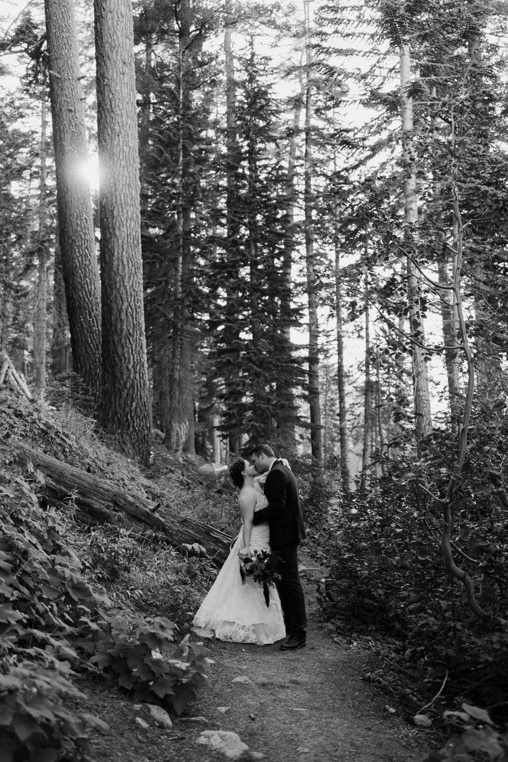 Wedding Portraits on the Pacific Crest Trail