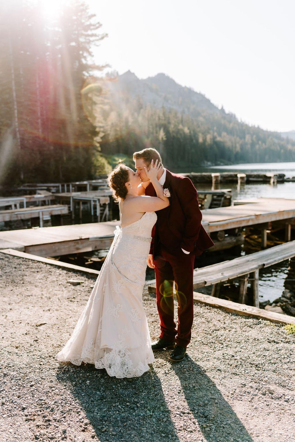 Echo Lake California Wedding Portraits