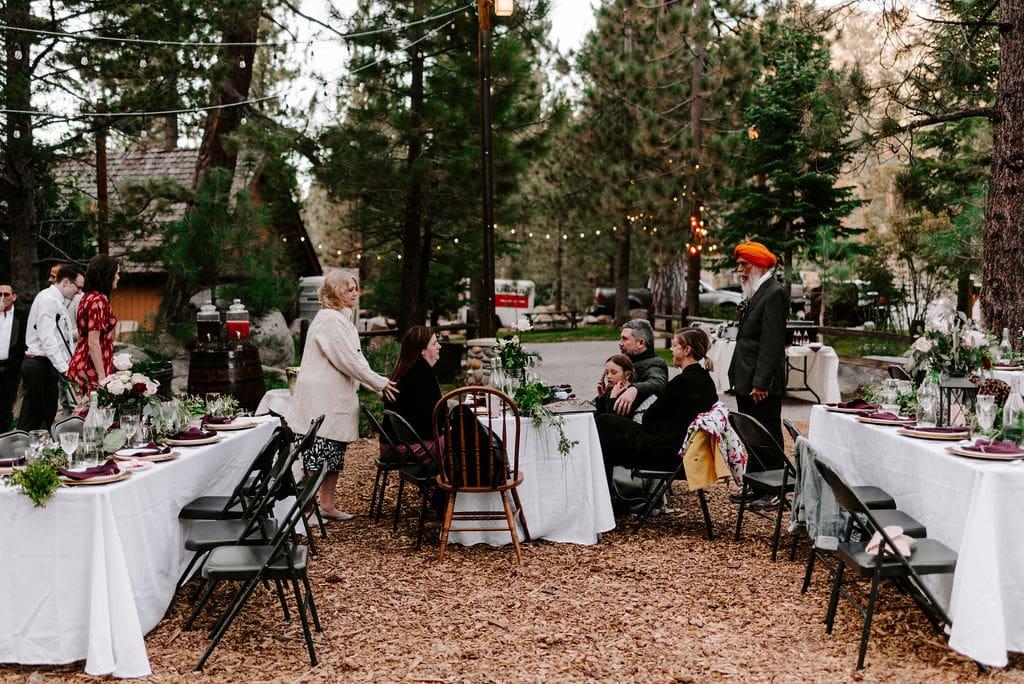 DIY south lake tahoe wedding