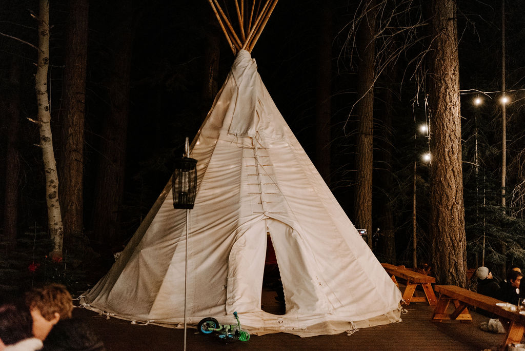 TeePee at River House Retreat