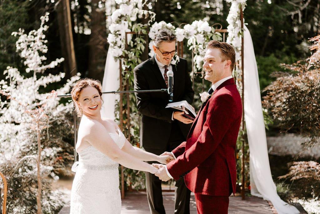 River House Retreat Wedding Ceremony