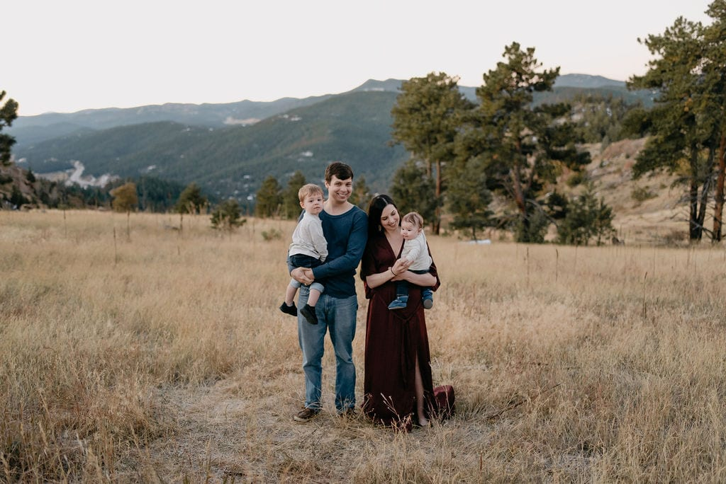 Sunrise Colorado Family Session