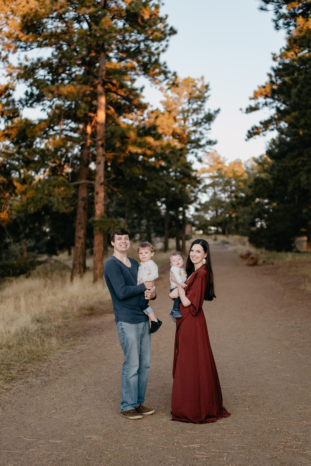 Sunrise Colorado Family Portraits