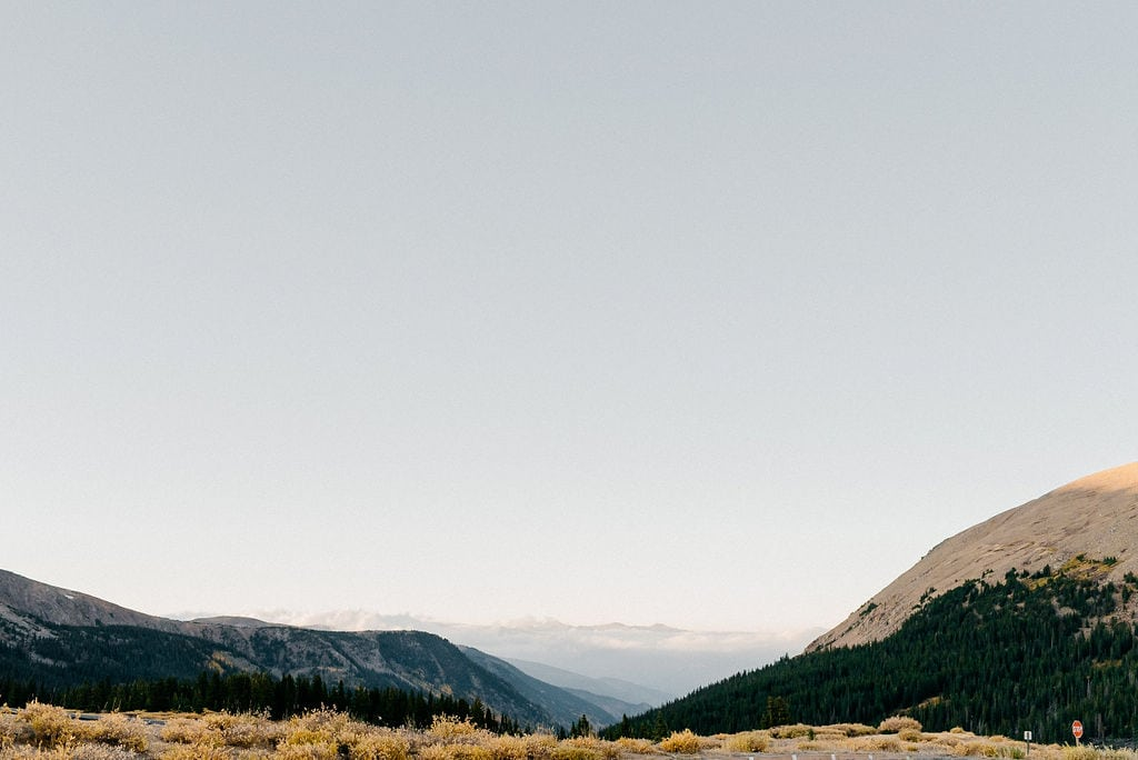 Guanella Pass in Colorado
