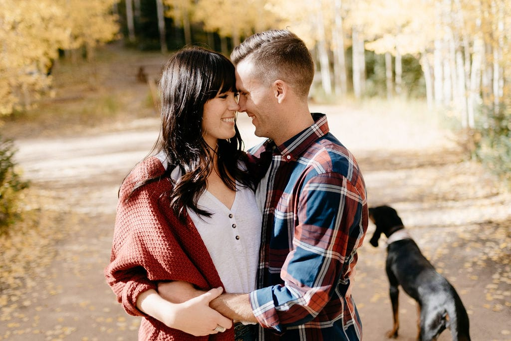 Dog Friendly Engagement Sessions Colorado