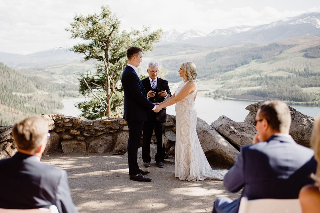 Sapphire Point Elopement Best Place to ELope in Colorado
