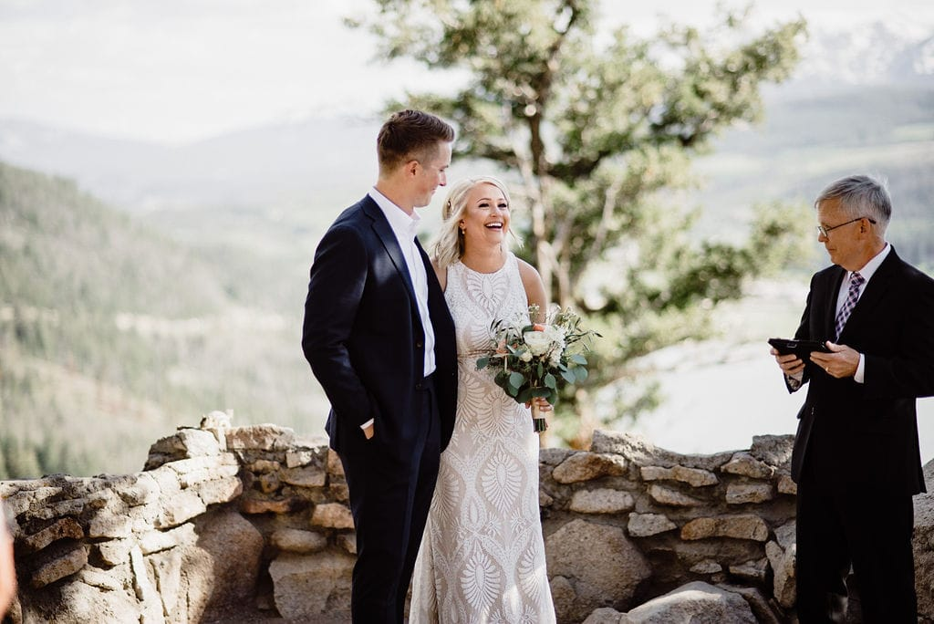 Elopement at Sapphire Point Colorado