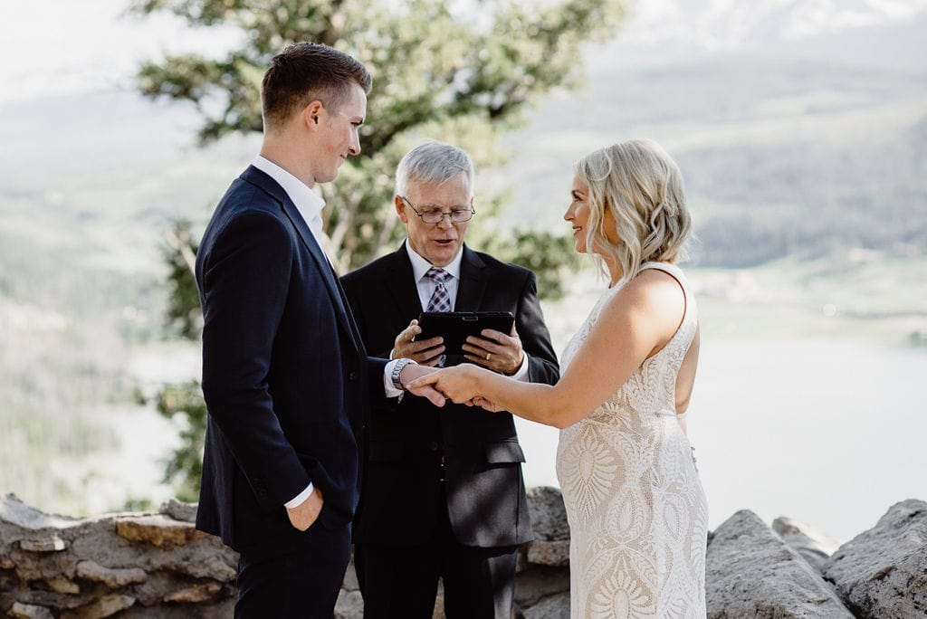 Ring Exchange at Sapphire Point