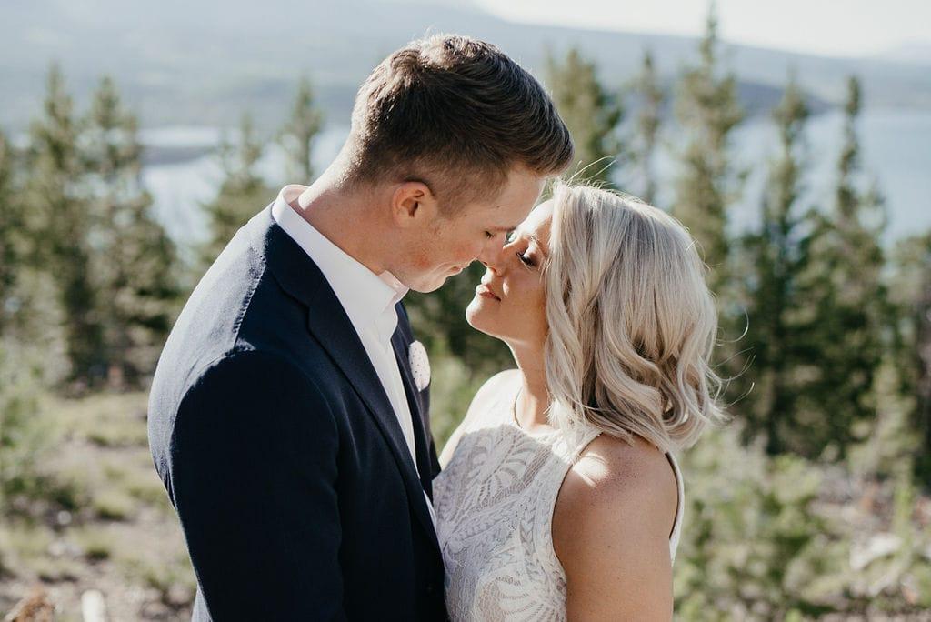 Sapphire Point Overlook Wedding Portraits