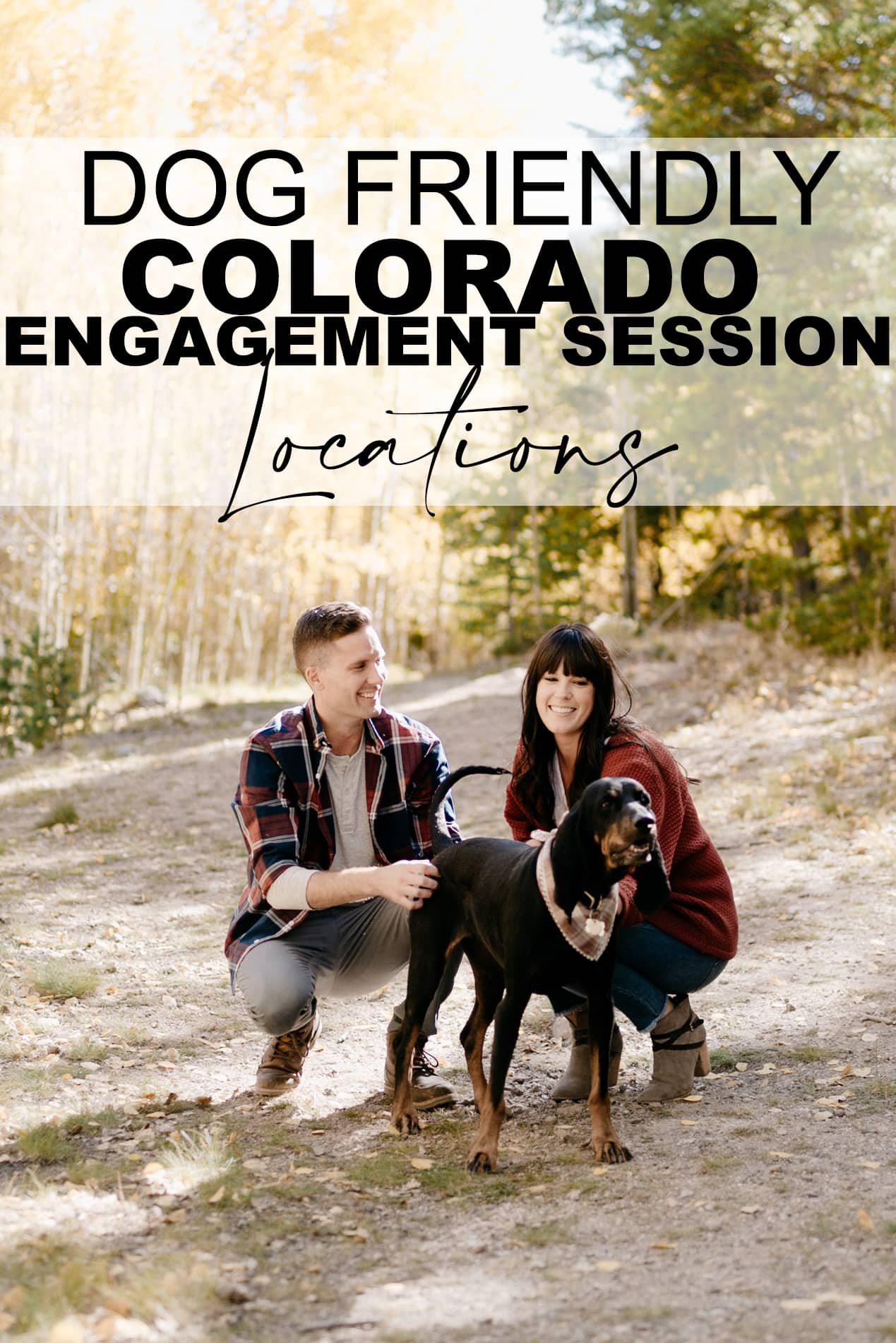 Dog Friendly Colorado Engagement Session Locations