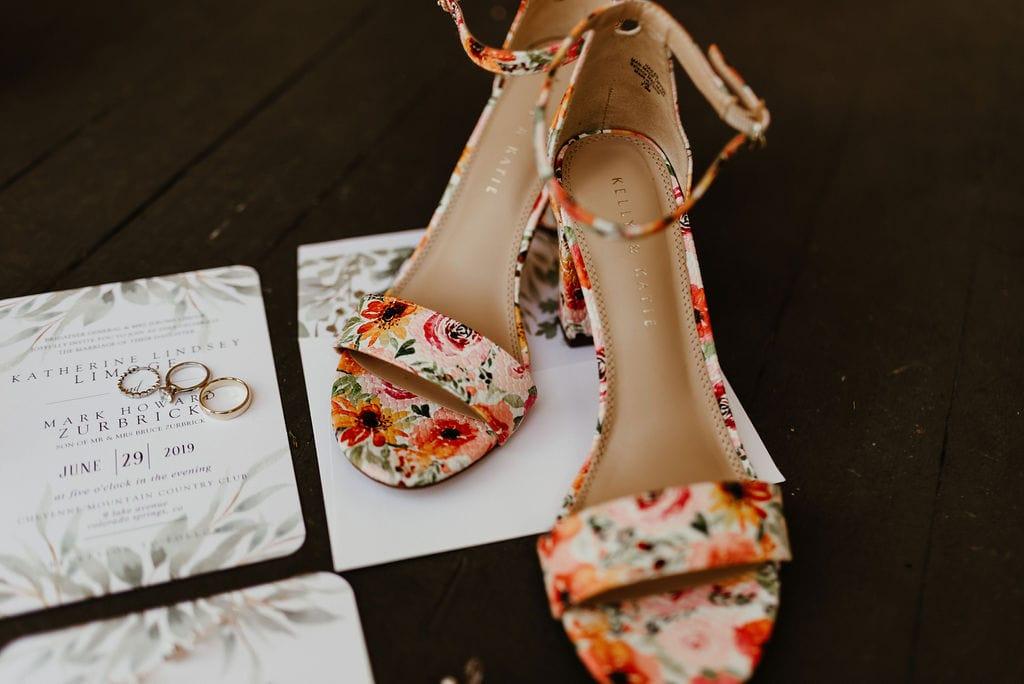 Wedding Bridal Details and Invitation Suite