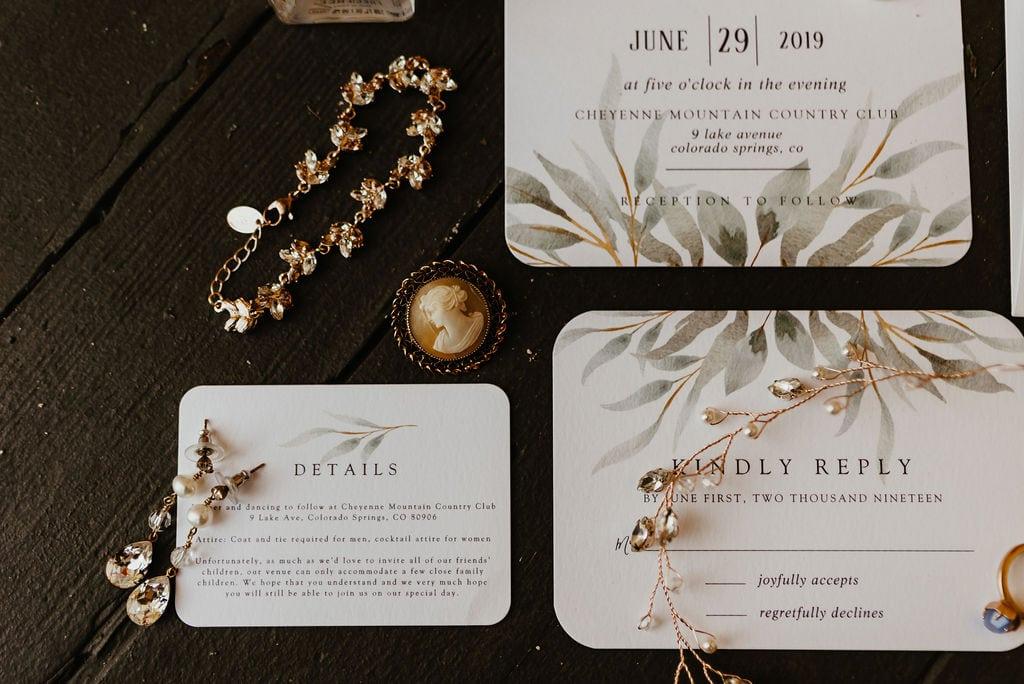 Wedding Bridal Bracelet and Earings