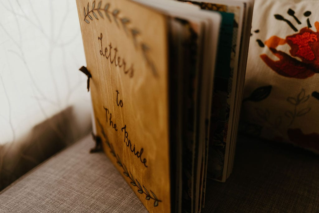 A book of letters to the bride
