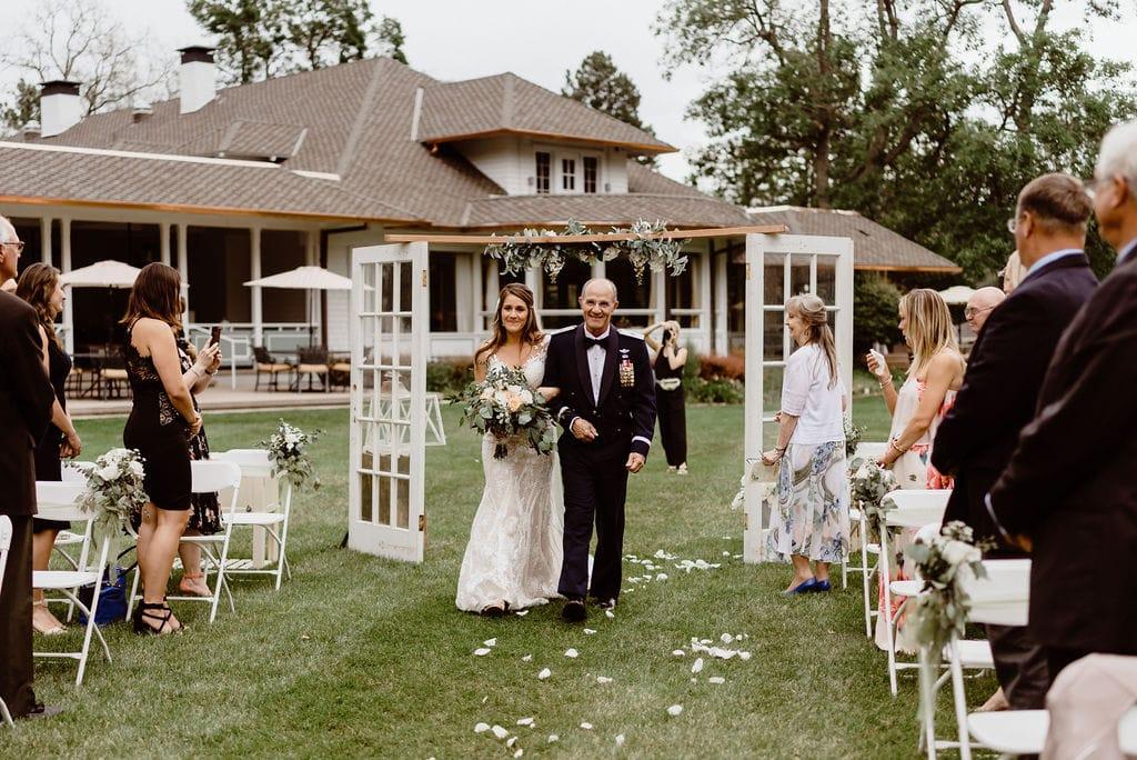 Colorado Springs Wedding Venue Cheyenne Mountain Country Club