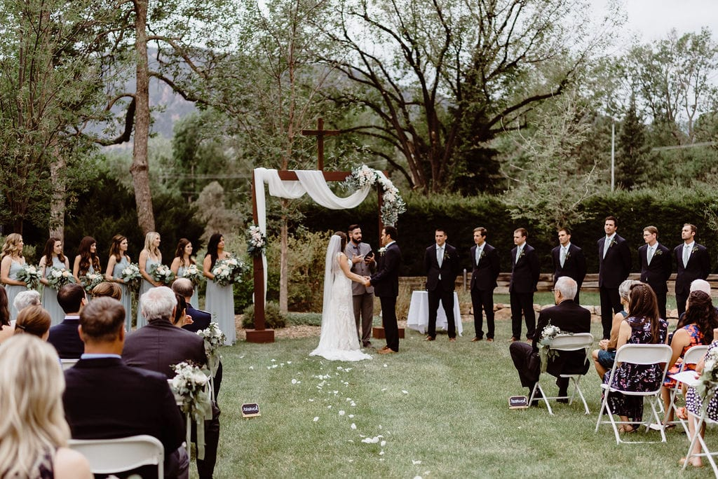 The Best Wedding Venues in Colorado - Cheyenne Mountain Country Club