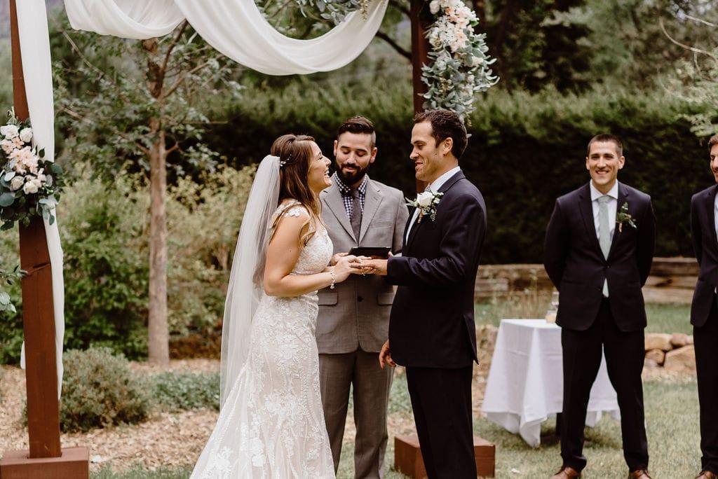 Cheyenne Mountain Country Club Wedding Ceremony