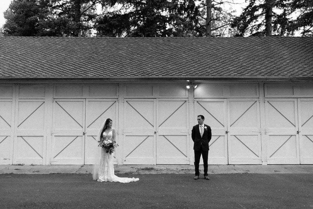 Colorado Springs Wedding Portraits at Cheyenne Mountain Country Club