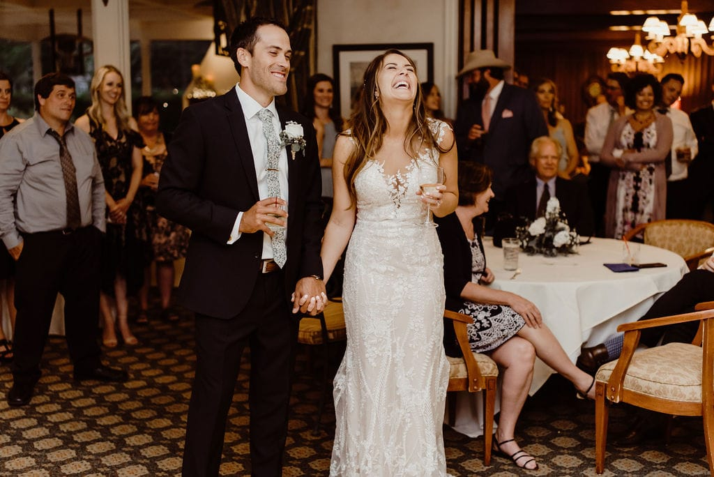 Wedding Toasts at Cheyenne Mountain Country Club Reception