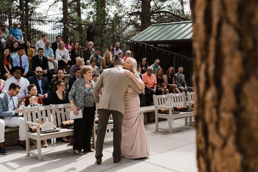 Wedding Ceremony At Della Terra in Estes Park, Colorado