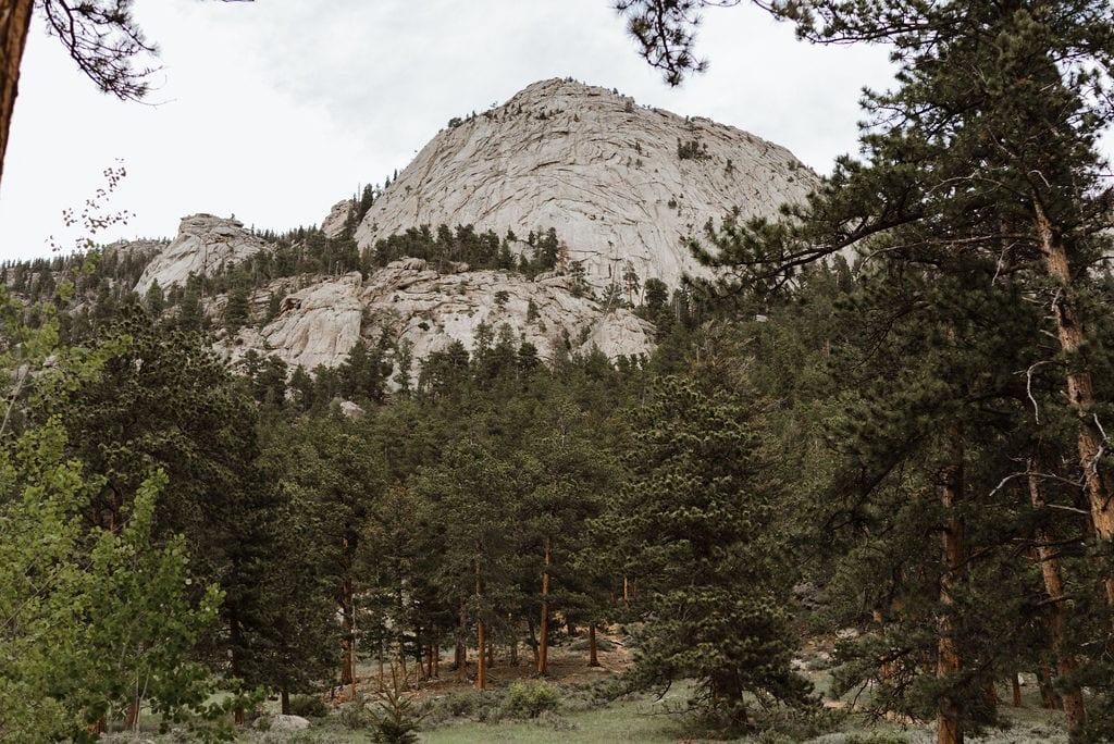 Mountain in Estes Park